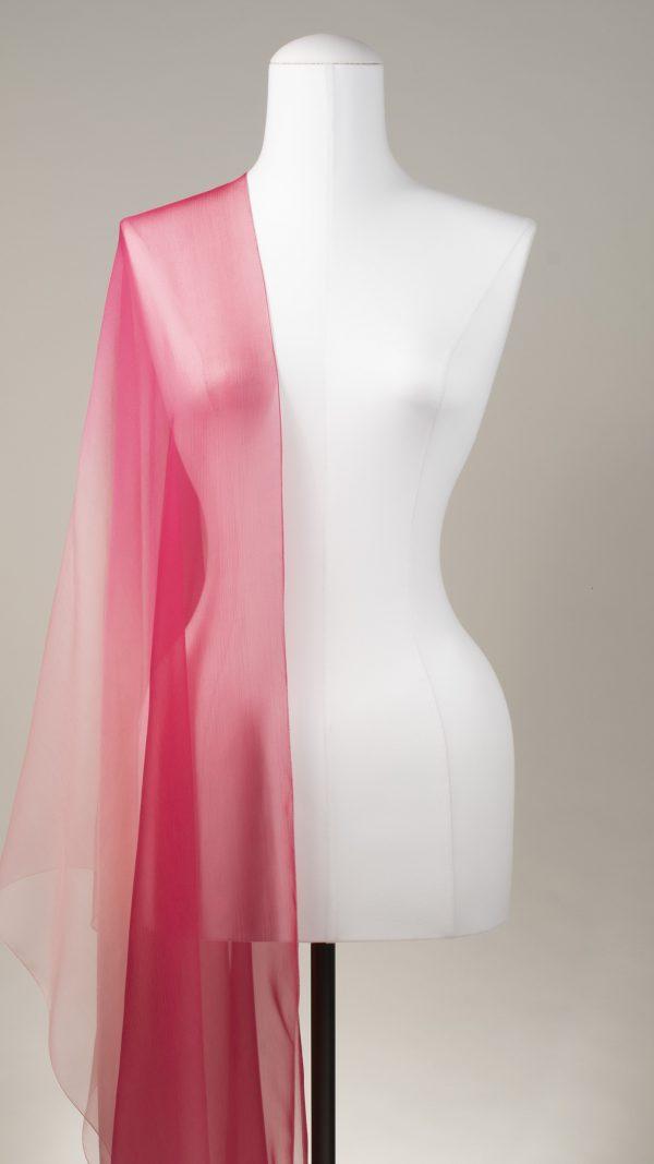 """Seidenschal """"Pink Shades"""" von TücherLuxus"""