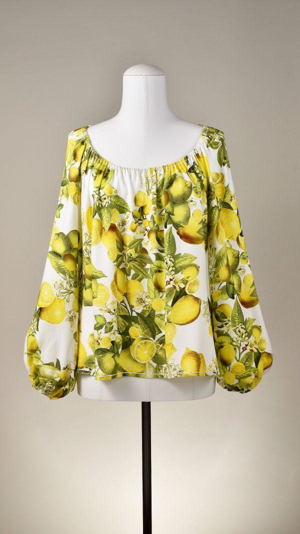 """Bluse """"Lemons"""" von KleiderLuxus"""