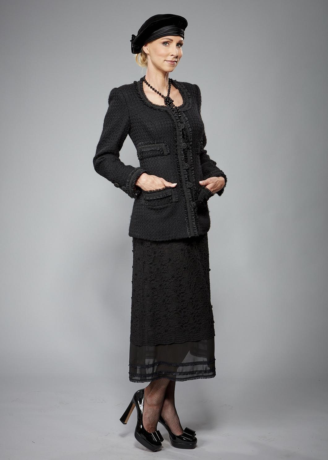 Tages-/Business-Bekleidung Haute Couture Privée Christina Kreuz